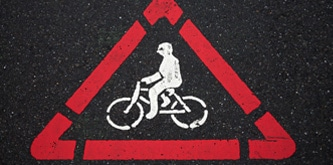Bicycle Yield Sign