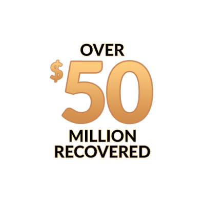 Over 50 million recovered for our clients